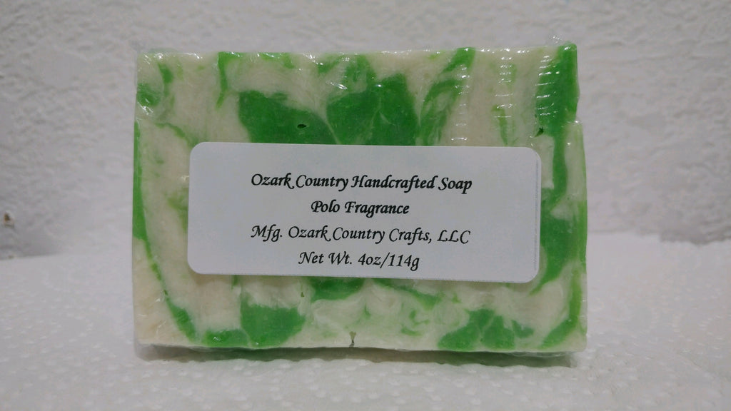 Ozark Country Handcrafted Soap - Polo Match Fragrance