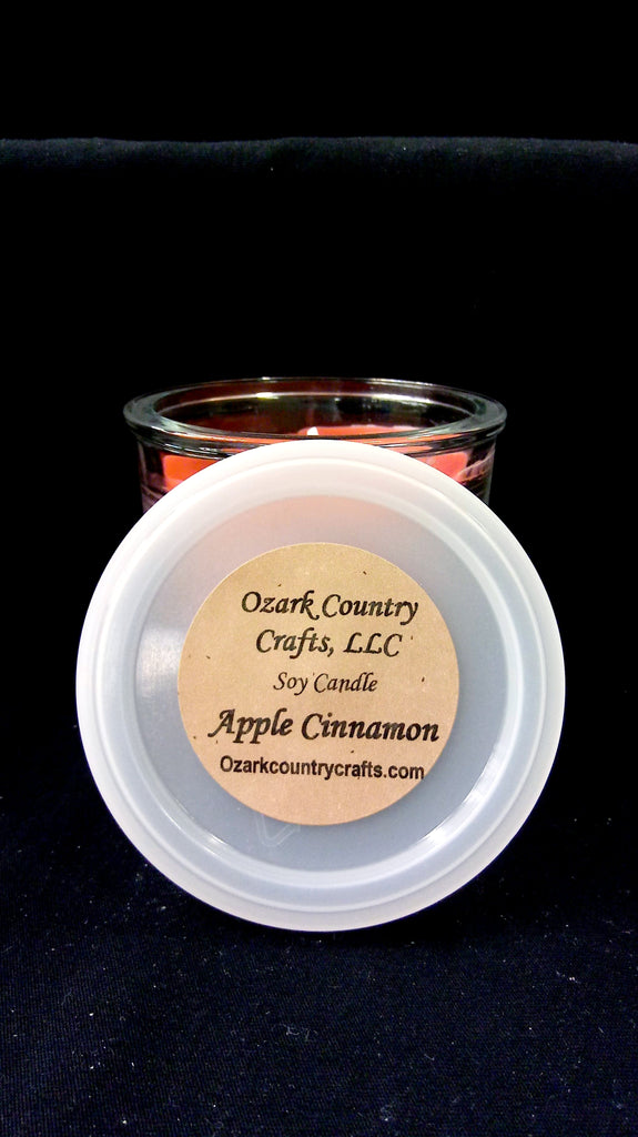 Apple Cinnamon Soy Candle - Flowerpot