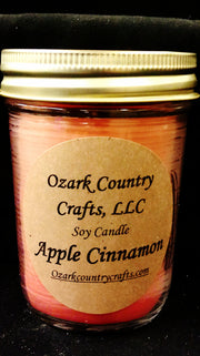 Apple Cinnamon Soy Candle - Jelly Jar