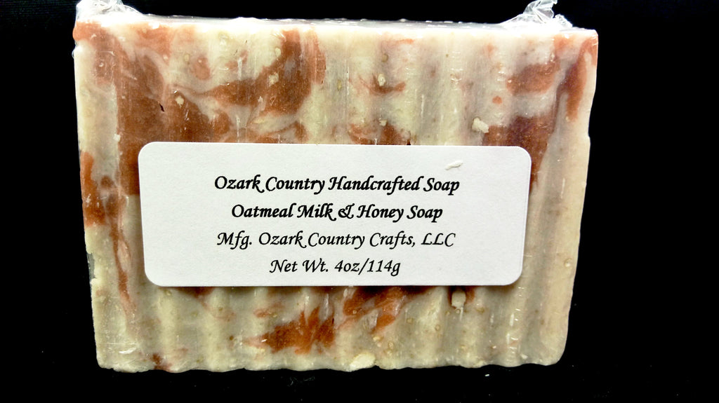 Ozark Country Handcrafted Oatmeal Soap