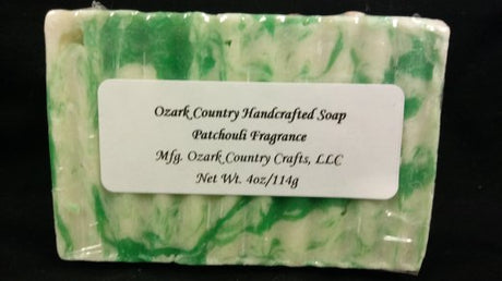 Ozark Country Handcrafted Patchouli Soap