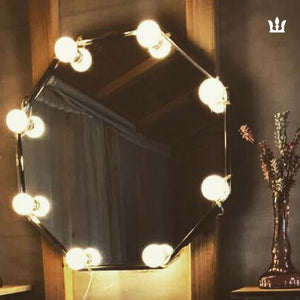 DIY Hollywood Mirror LED Bulbs