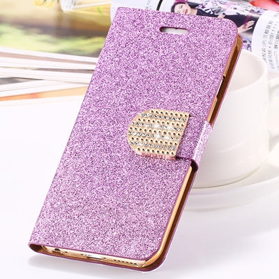 Glittering Ultra Luxury Leather Wallet Pouch For iPhone X 8,7,6,5 - BestCaseforIPHONE.COM