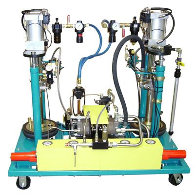 High Volume Fluid and Adhesive Dispensing Pump Systems