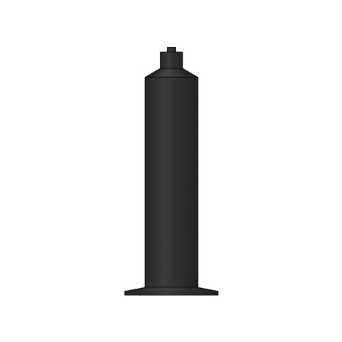 Black Single Component Syringe Barrels - All Sizes