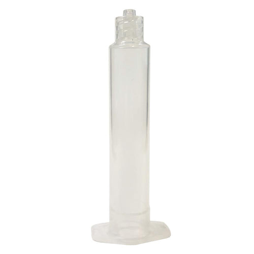 Natural Clear Single Component Syringe Barrels - All Sizes