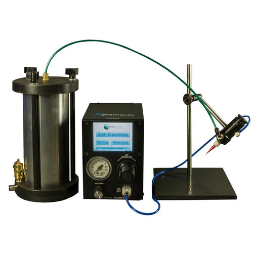 Complete UV Adhesive Syringe Dispensing System