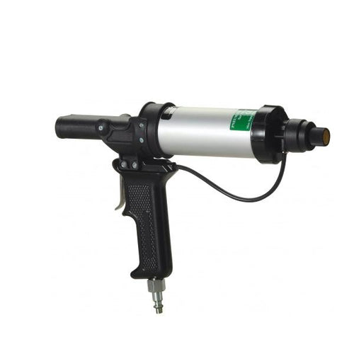 Cox A25 dual component pneumatic cartridge gun