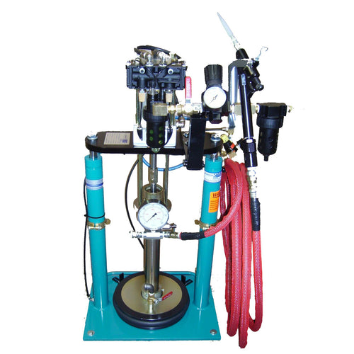 Pneumatic 5 Gallon Pail Pump Dispensing System with Dual Guns