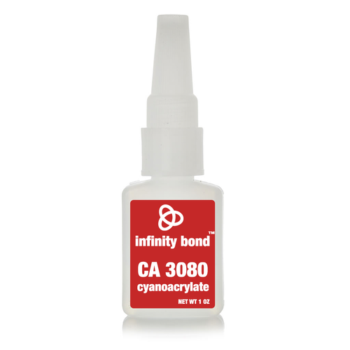 Infinity Bond CA 3080 black rubber toughened cyanoacrylate
