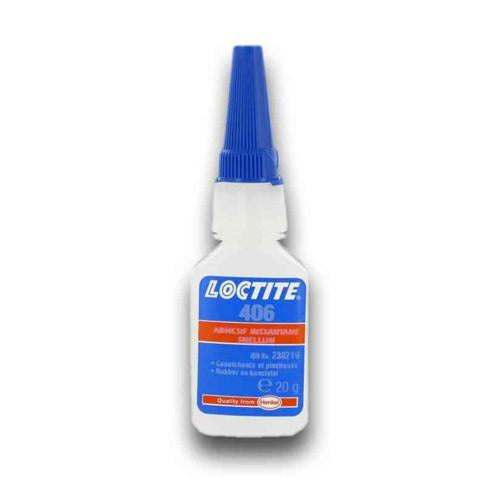 Loctite 406 Adhesive for Plastic Rubber O-Ring etc Cyanoacrylate 20g Superglue