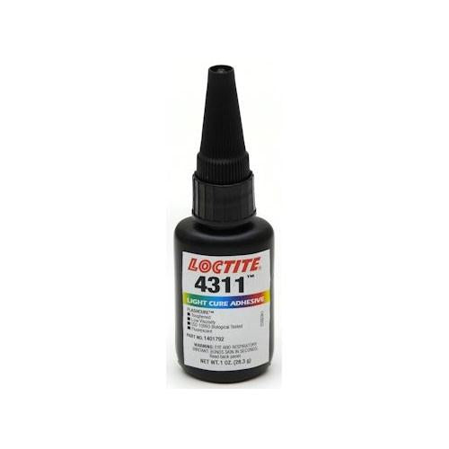 Loctite 4311 light cure cyanoacrylate super glue