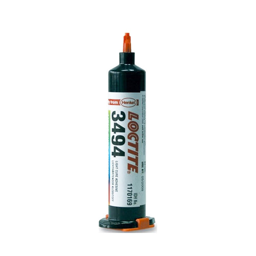 Loctite 3494 UV Light Cure Adhesive - All Sizes