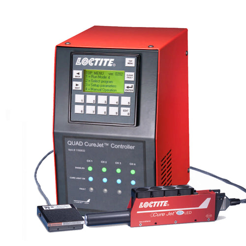 Loctite CureJet LED Complete System with Quad Controller