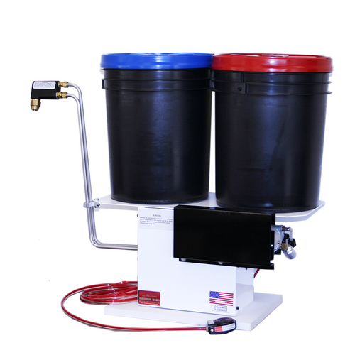 Easy to Use, Low-Cost Manual Two Part Dispensing System with Gear Pump