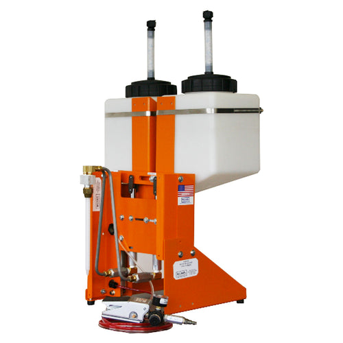Benchtop dispensing system for urethane dispensing