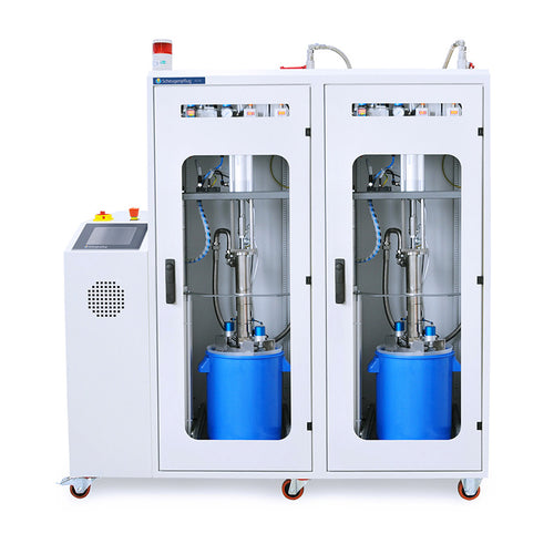 Two Component Pail Pump Dispensing System for Potting Applications