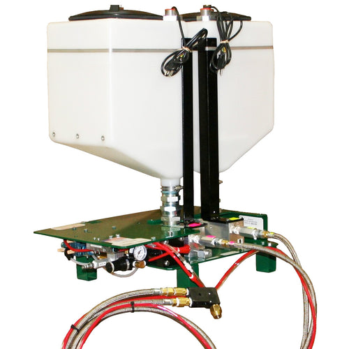 Meter mix dispensing system for epoxy, silicone or MMA potting