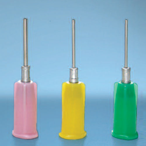 Stainless Steel Dispensing Tip with Polyethylene Hub