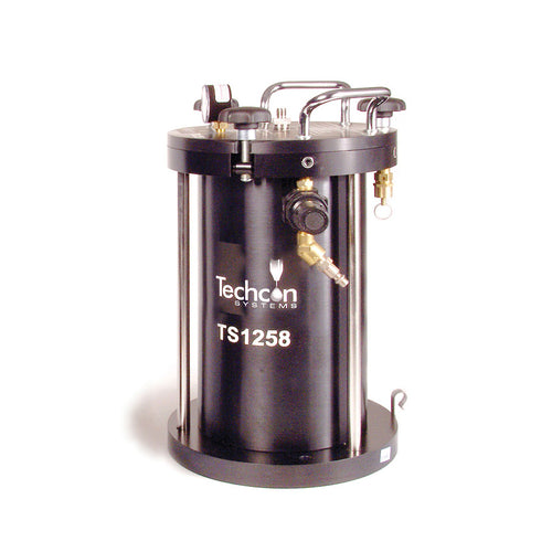 Medium Size Pressure Tank Reservoir for Benchtop Fluid Dispensing