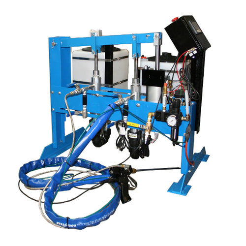 High volume meter mix dispensing system