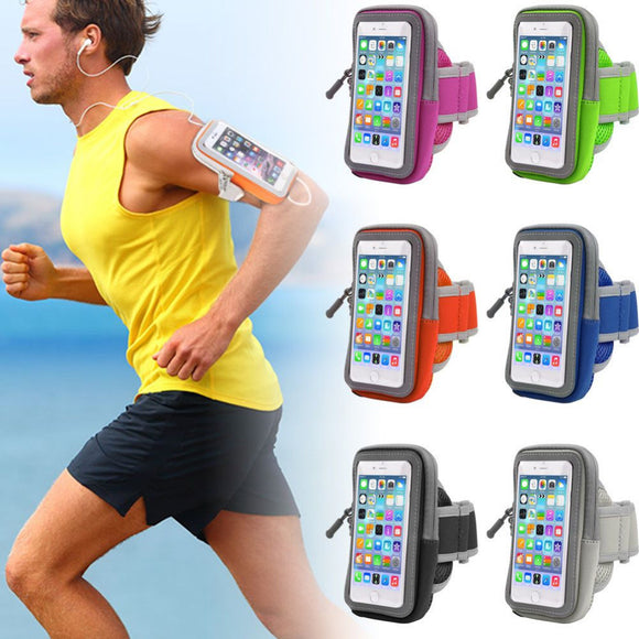 2017 Hot Sport Bags Armband Gym Outdoor Running Arm Band Cover Case For iphone 7 Sport Accessories #EW