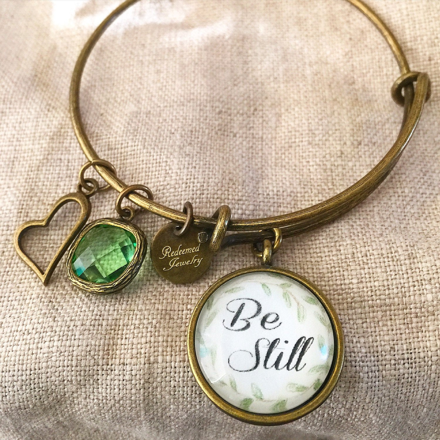 Be Still Bangle Bracelet - Redeemed Jewelry