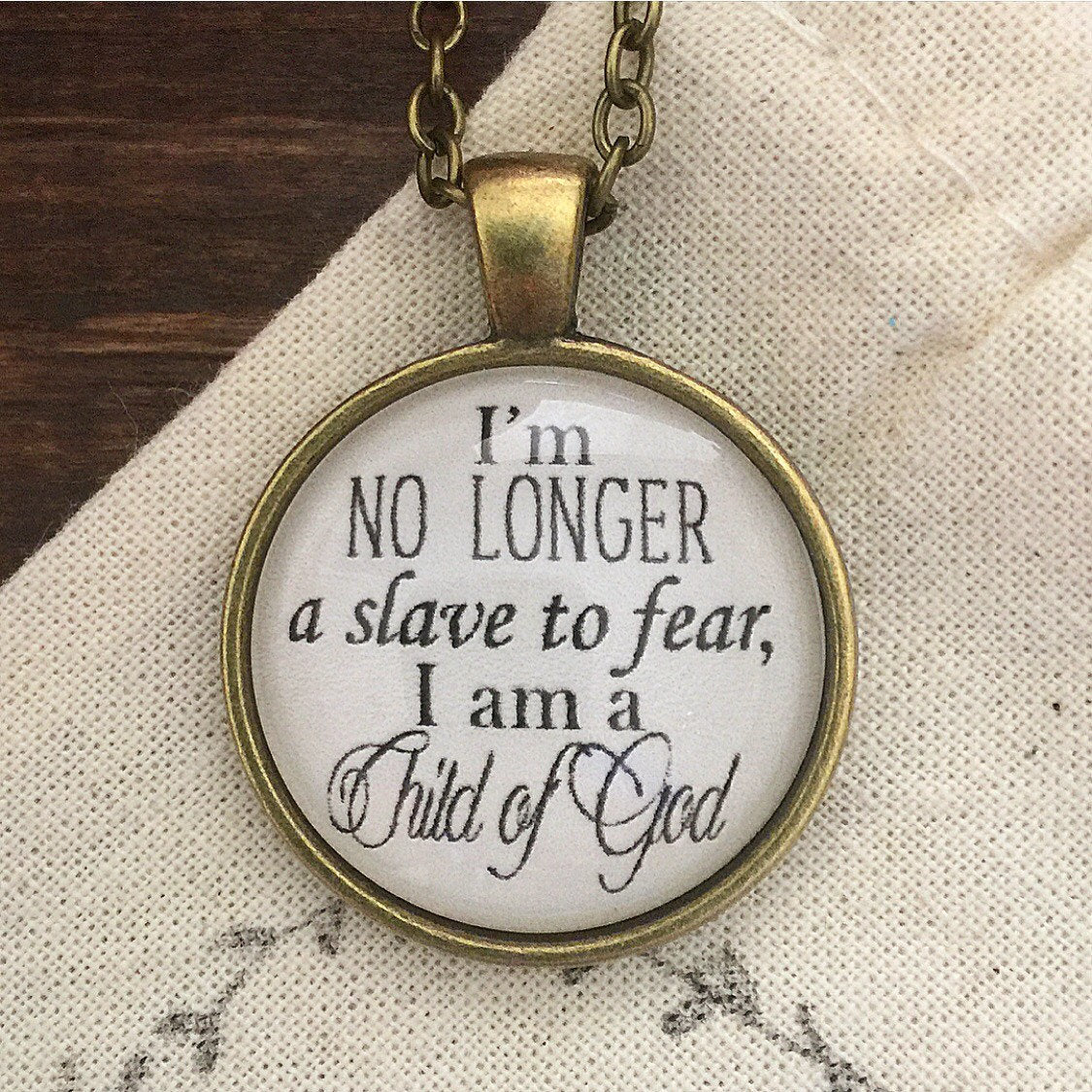 Bethel No Longer Slaves Pendant Necklace - Redeemed Jewelry