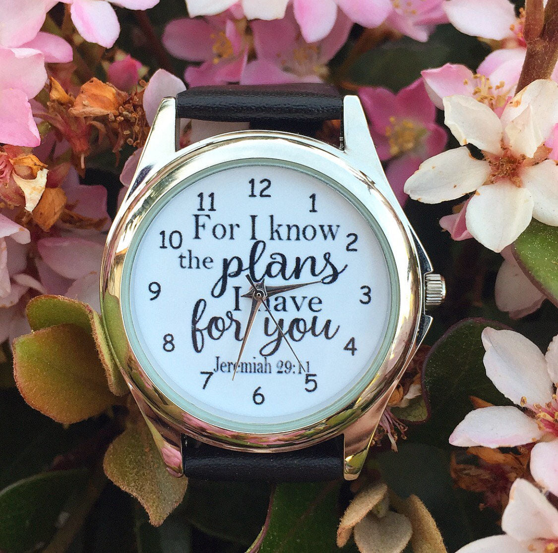 Scripture Women's Wristwatches-Multiple Styles - Redeemed Jewelry