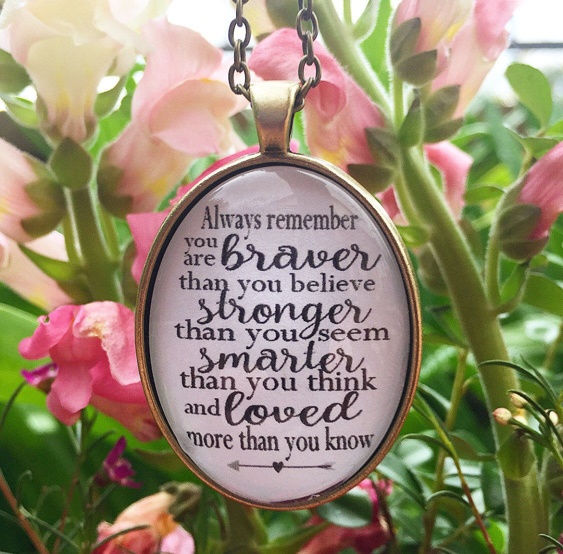 Always Remember Necklace - Redeemed Jewelry