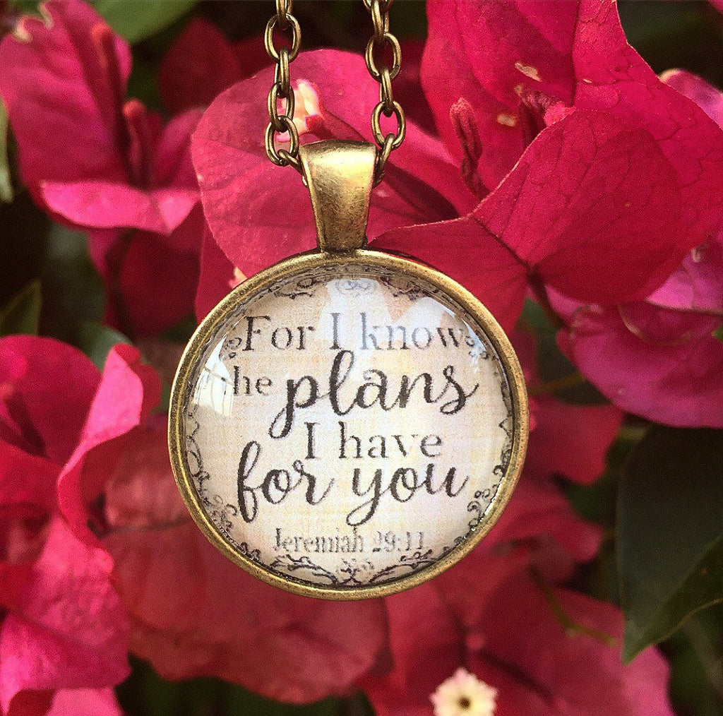 Jeremiah 29:11 Necklace - Redeemed Jewelry