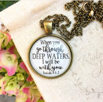 Isaiah 43:2 Deep Waters Necklace - Redeemed Jewelry