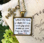 Romans 15:13 Necklace - Redeemed Jewelry