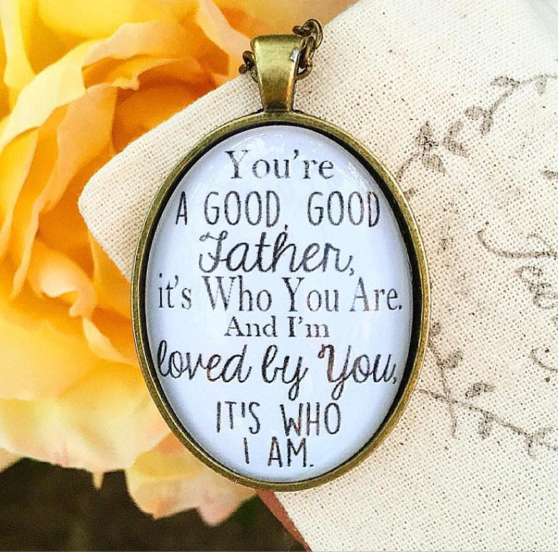 Good Good Father Pendant Necklace - Redeemed Jewelry