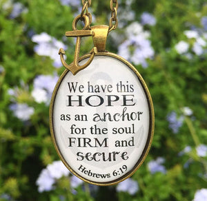 Hebrews 6:19 Necklace - Redeemed Jewelry