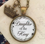 Daughter of the King Necklace - Redeemed Jewelry