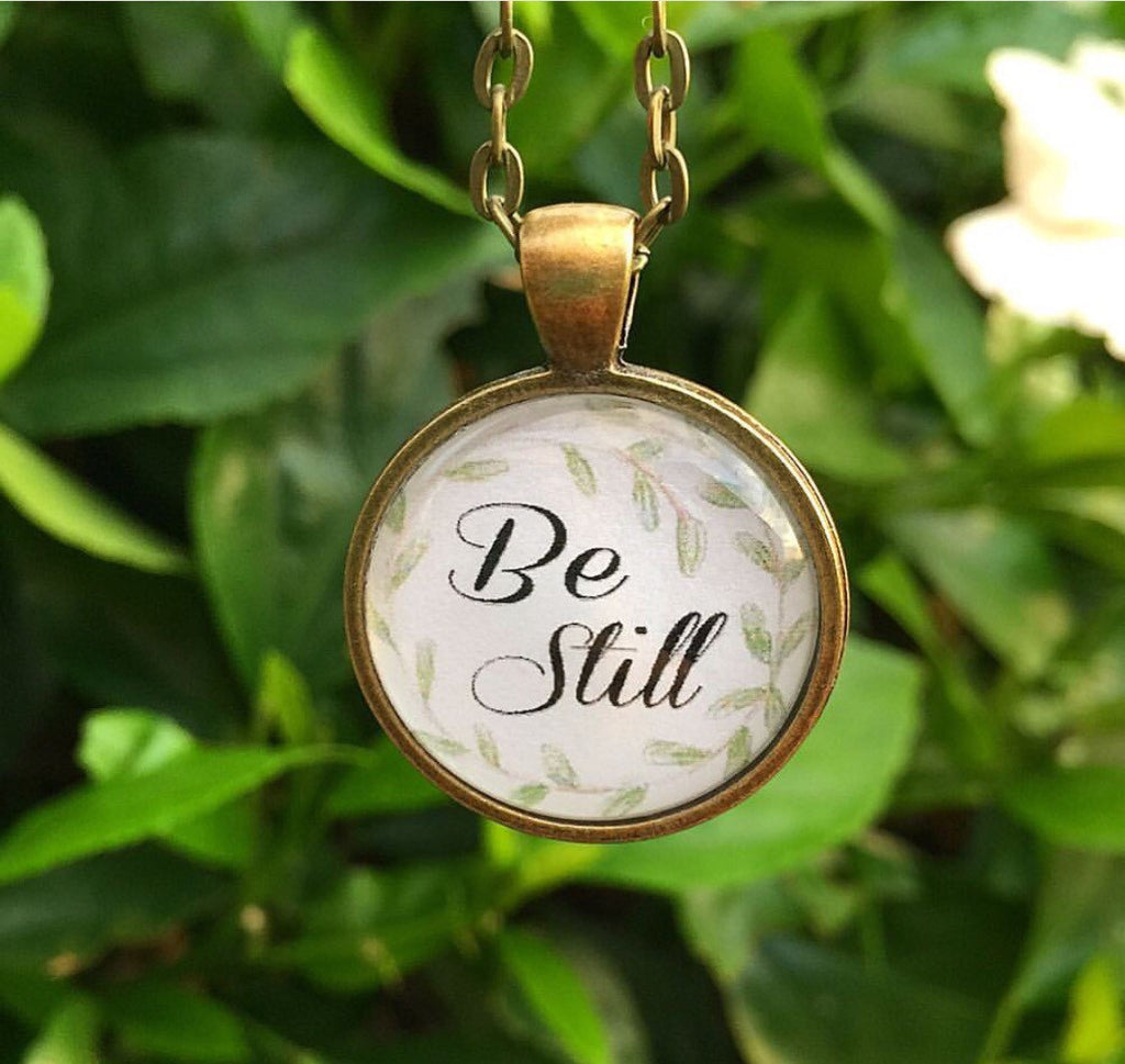 Be Still Necklace - Redeemed Jewelry