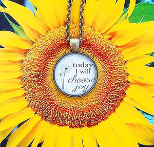 Today I Will Choose Joy Necklace - Redeemed Jewelry