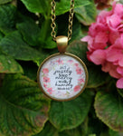 Micah 6:8 Pendant Necklace - Redeemed Jewelry