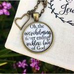 Reckless Love of God Necklace - Redeemed Jewelry