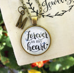 Forever in My Heart Necklace - Redeemed Jewelry
