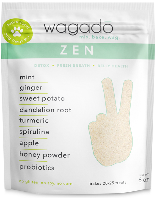 zen |  dog treat baking mix