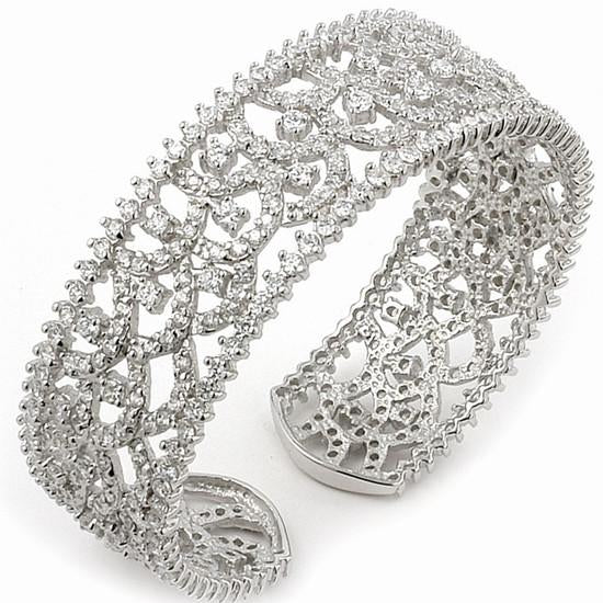 B7 Couture 925 Sterling Silver Cuff
