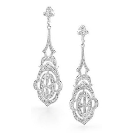 E31 Deco Dream Vintage 925 Sterling Silver Earrings