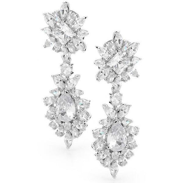 E5 Bardot Red Carpet Earrings