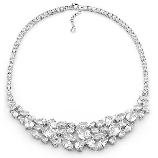 N4 Cluster Red Carpet Necklace