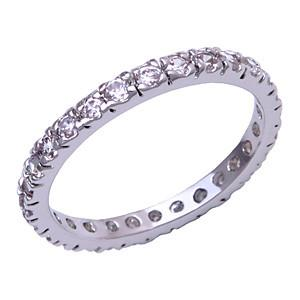 R27 Renee 925 Sterling Silver Wedding Band