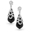 E20 Francessca 925 Sterling Silver Earrings as worn by Fifi Box