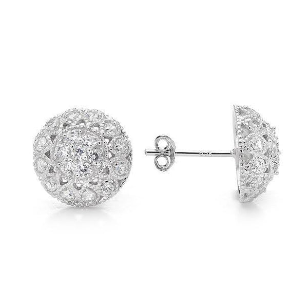 E30 Kidman Vintage 925 Sterling Silver Earrings