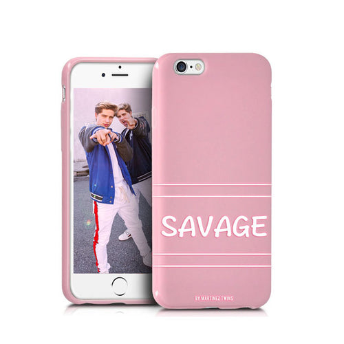 Pink Savage iPhone 7 and 8 Case
